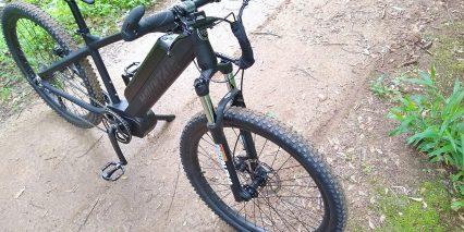 Electric Bike Technologies Electric Mountain Bike Rst Front Suspension Fork