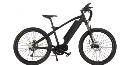 Electric Bike Technologies Electric Mountain Bike Stock High Step Black