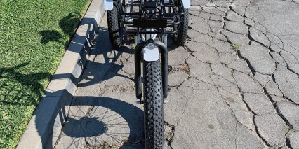 Emojo Caddy Trike Front Basket Integrated Headlight