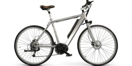 Mod Bikes Berlin Stock High Step Silver