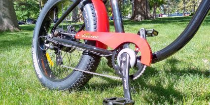 Wildsyde The Beast Color Matched Chain Guard Platform Pedals