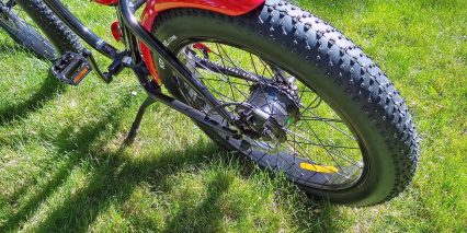 Wildsyde The Beast Rear Metal Fender Center Mounted Kickstand