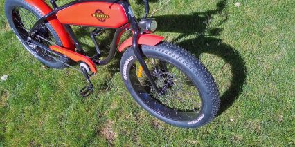 Wildsyde The Beast Rigid Front Fork Integrated Headlight Kenda Fat Tires