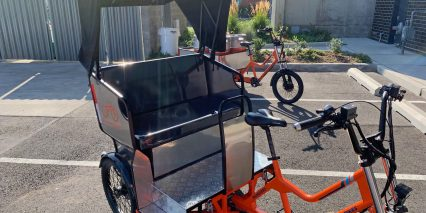 2019 Rad Power Bikes Radburro Pedicab