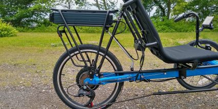 Electric Bike Technologies Eco Tad Trike 500 Watt Motor