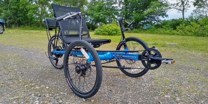 Electric Bike Technologies Eco Tad Trike Disc Brakes
