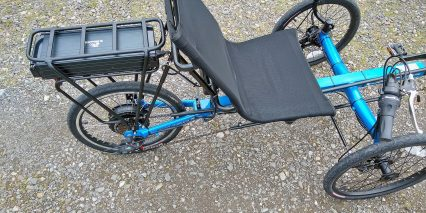 Electric Bike Technologies Eco Tad Trike Mesh Seat