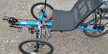 Electric Bike Technologies Eco Tad Trike Recumbant Seat
