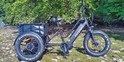 Electric Bike Technologies Fat Mid Drive Trike