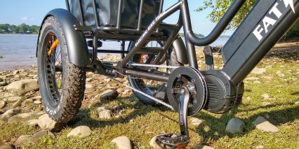 Electric Bike Technologies Fat Mid Drive Trike Bafang Ultra Motor
