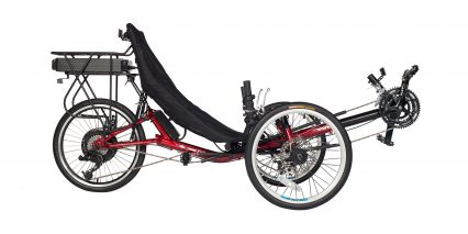 Electric Bike Technologies T3 Cx Stock Trike Red