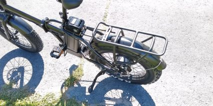 Eunorau E Fat Mn Rear Rack Kickstand