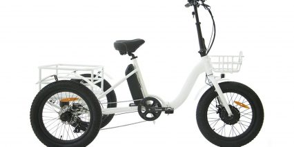 Eunorau New Trike Stock Folding Trike White
