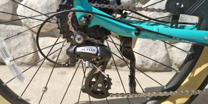 Giant Lafree E Plus 2 Shimano Altus Derailleur 11 To 32 Tooth Eight Speed Cassette