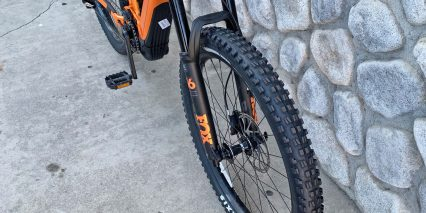 Giant Trance E Plus One Pro Fox 36 Suspension Fork