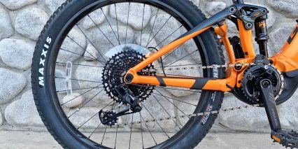 Giant Trance E Plus One Pro Maxxis Rekon Rear Tire Sram Eagle Derailleur