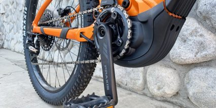 Giant Trance E Plus One Pro Sram X Sync Eagle 36 Tooth Narrow Wide Chainring Praxis Crank Arms