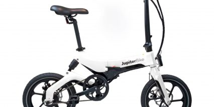 Jupiterbike Discovery Stock Folding White