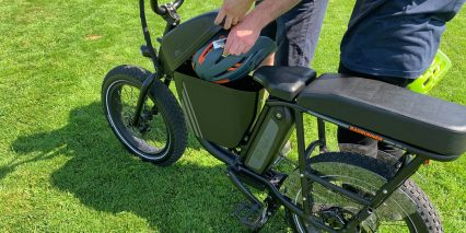 Rad Power Bikes Radrunner Optional Console Cargo Box