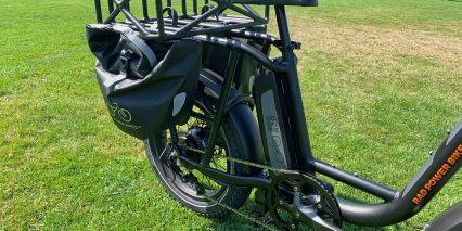 Rad Power Bikes Radrunner Optional Rear Basket And Panniers