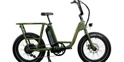 Rad Power Bikes Radrunner Stock Satin Forest Green