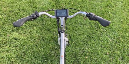 2019 Electric Bike Outfitters 48v Cruiser Kit Cockpit View