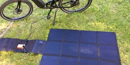 Electric Bike Company Ebc Solar Panel Charging Operation