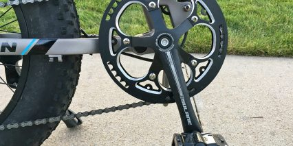Rattan Fat Bear Alloy Chain Guard 170mm Crank Arms Welgo Folding Alloy Pedals
