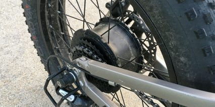 Rattan Fat Bear Reibok 500w Gearless Rear Hub Motor