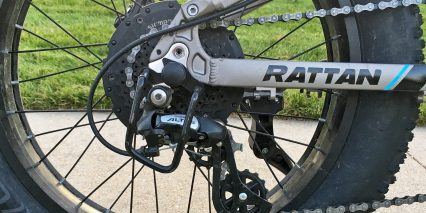 Rattan Fat Bear Shimano Altus Derailleur Guard 8 Speed Cassette