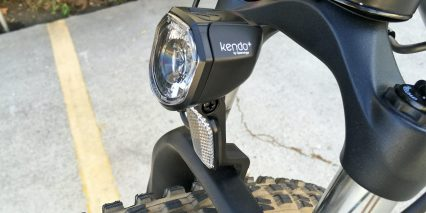 Addmotor Hithot H1 Platinum Kendo Plus By Spanninga Integrated Headlight