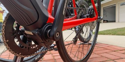 Bulls Alpine Hawk Evo Crank Arm Bottom Bracket Closeup