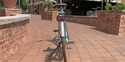 Cube Elly Cruise Hybrid 400 Herrmans H Trace Rear Light And Sks Fenders