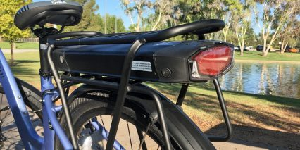 Espin Reine Carrier Mounted Battery Pack Integrated Taillight