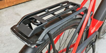 Gazelle Ultimate T10 Plus Hmb Rear Rack Integrated Hermanns Taillight Bungee Clip