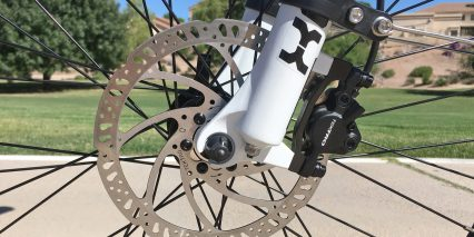 Surface604 Rook Tektro Auriga Hydraulic Disc Brakes Dual Piston Caliper 160mm Rotor