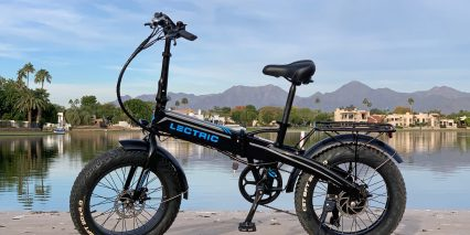 Lectric Ebikes Lectric Xp Black Left Side
