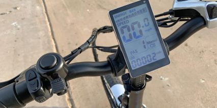 Lectric Ebikes Lectric Xp Large Grayscale Lcd Display And Flick Bell