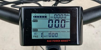 2020 Rad Power Bikes Radcity King Meter Lcd Display Backlit