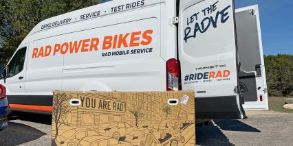 2020 Rad Power Bikes Radcity Rad Mobile Service Van
