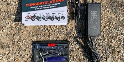 Rad Power Bikes Radmini Step Thru 2 Battery Charger Tool Kit And Instructions Manual