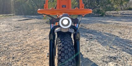 Rad Power Bikes Radmini Step Thru 2 Custom Headlight With Light Ring And Focused Center
