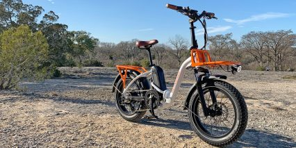 Rad Power Bikes Radmini Step Thru 2 Folding Electric Bike