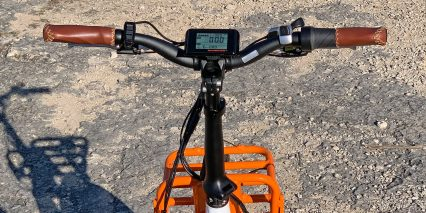 Rad Power Bikes Radmini Step Thru 2 Handlebar Thumb Shifter Ergo Grips Display With Usb Port