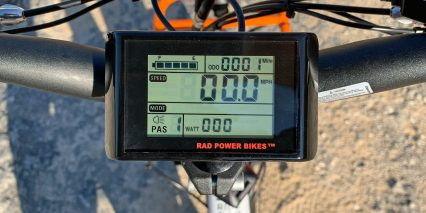 Rad Power Bikes Radmini Step Thru 2 King Meter Lcd Display Panel Closeup