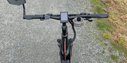 Dost Drop Handlebar With Optional Cup Holder And Mirror