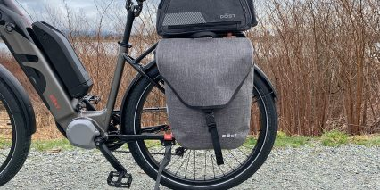 Dost Drop Optional Waterproof Pannier And Trunk Bag With Bottle Holder