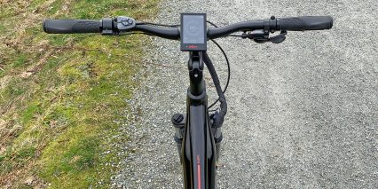 Dost Kope Handlebar With Display Usb Charging Port Grips Brake Levers