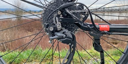 Dost Kope Upgraded Shimano Altus Derailleur 9 Speed Drivetrain 11 36 Tooth Freewheel