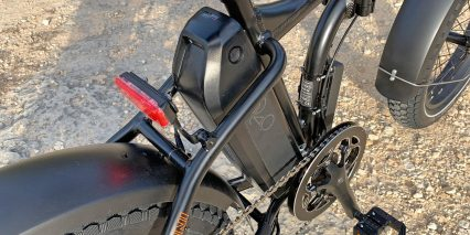 Eu Rad Power Bikes Radmini 4 Removable 48 Volt Battery Pack And Rear Light Spanninga Solo